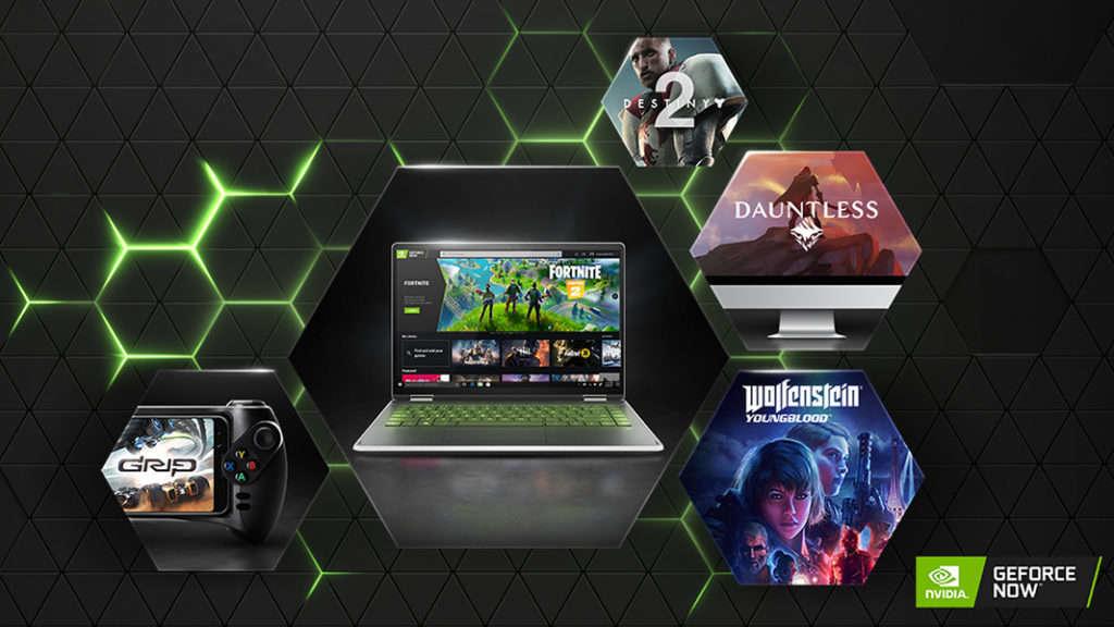 Juegos GeForce Now de Nvidia iPhone