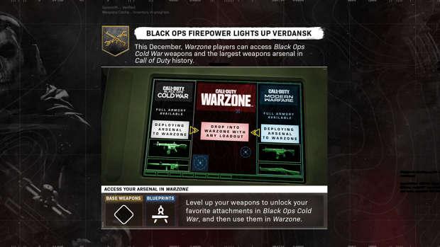 Warzone Modern Warfare Black Ops