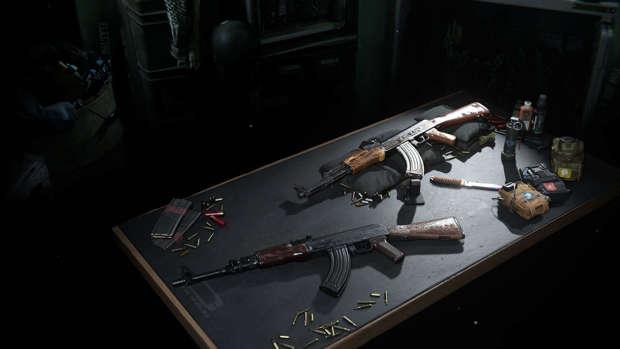 AK-47 y AK74u Warzone