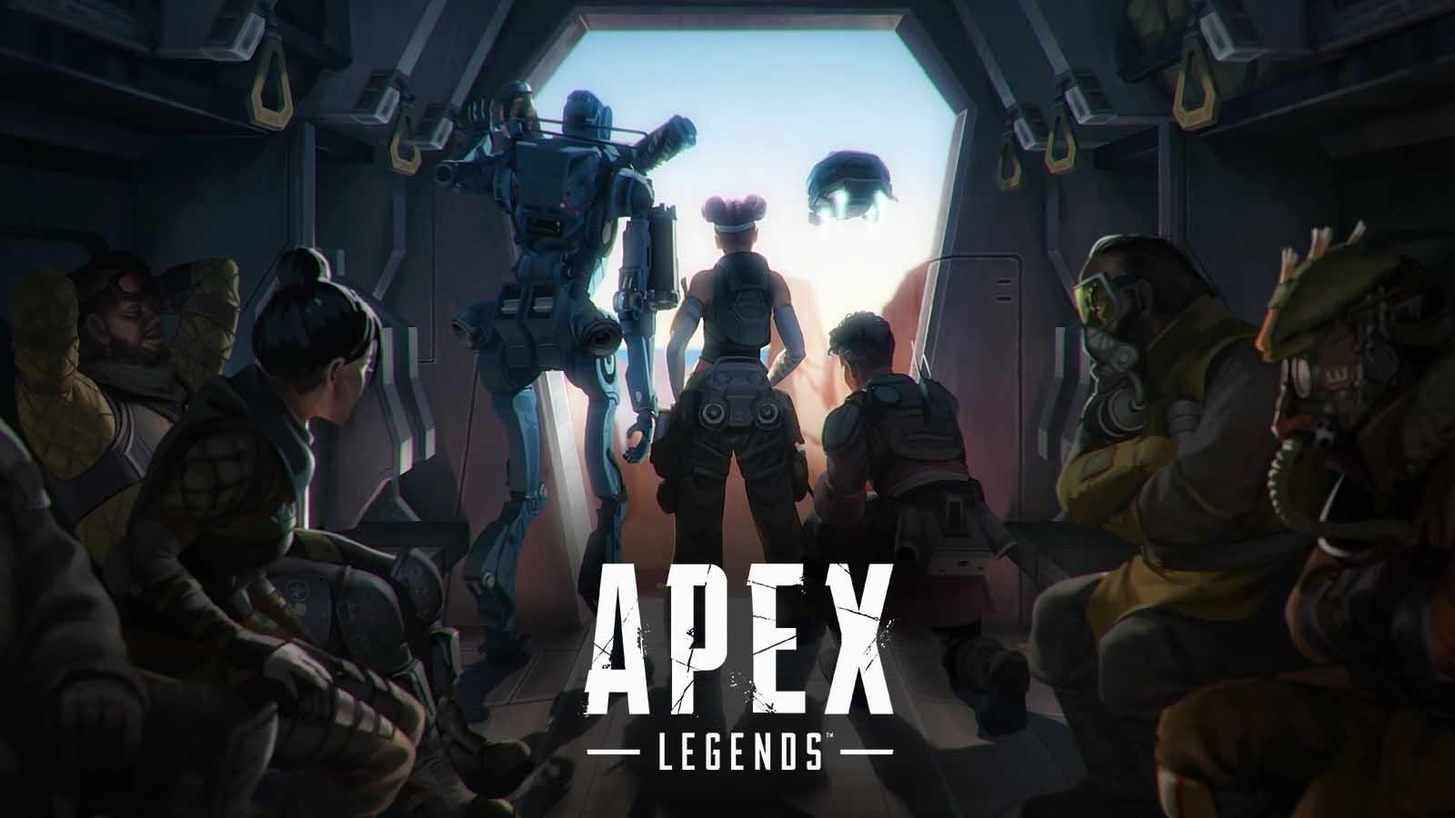 portada glitch temporada 7 apex legends