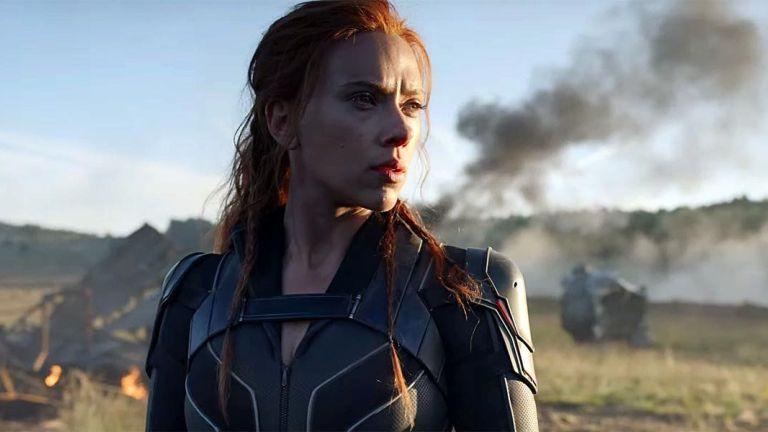 Scarlett Johansson como Black Widow