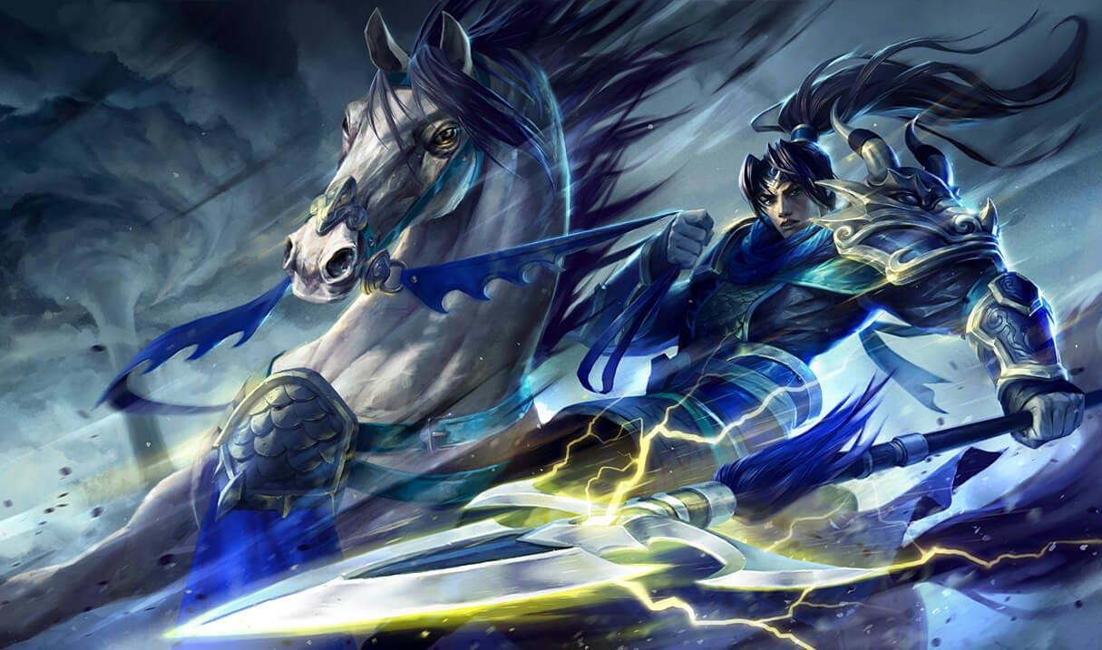 Xin Zhao Reinos Combatientes