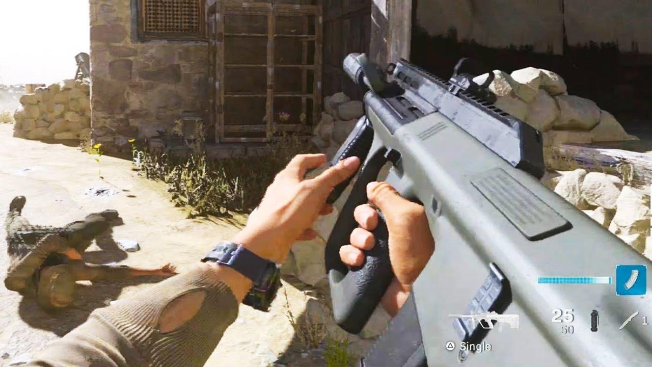 AUG en Modern Warfare