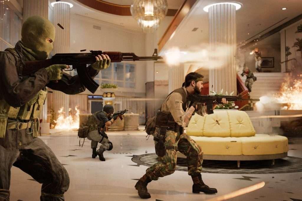 Black Ops Cold War tiroteo