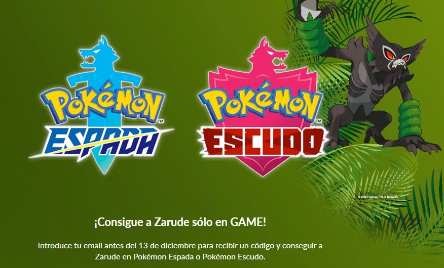 Logos de Pokémon y Zarude