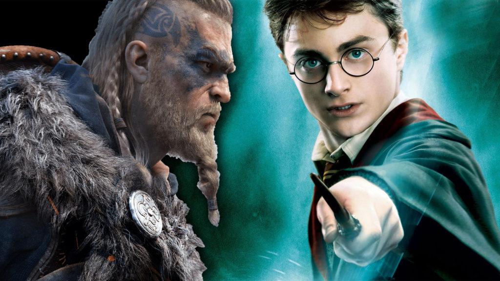 Eivor y Harry Potter