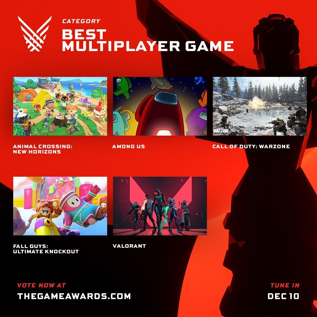 Multijugador Game Awards