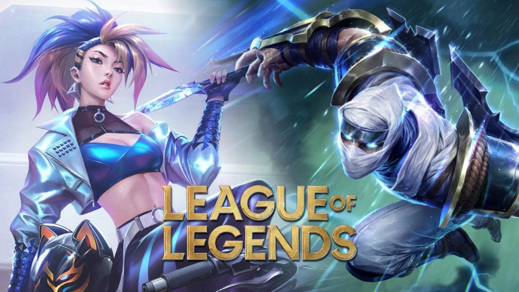 Akali y Zed league of legends