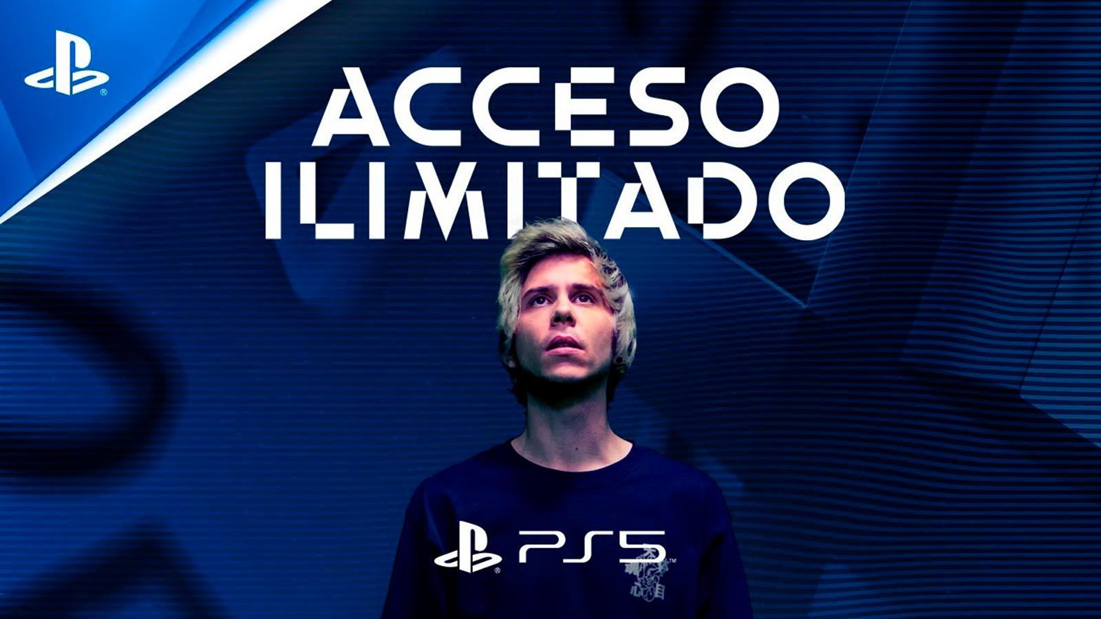 Rubius como imagen de Acceso Ilimitado de PlayStation 5