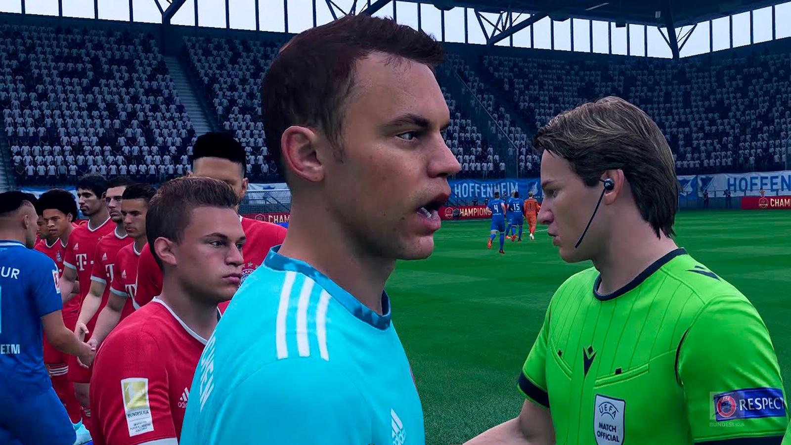 Portero TSG Hoffenheim en FIFA 21