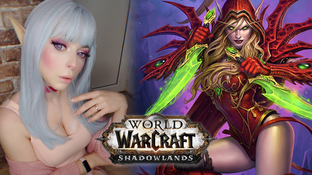 World of Warcraft Shadowlands cosplay
