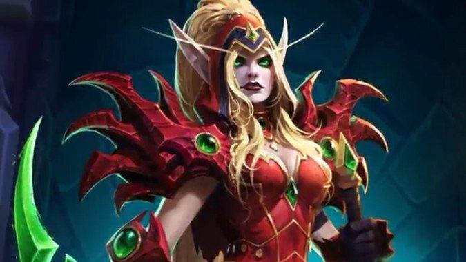 Valeera Sanguinar de World of Warcraft