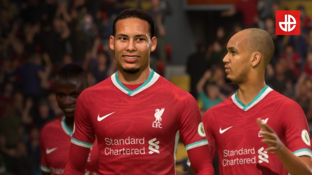Van Dijk en FIFA 21
