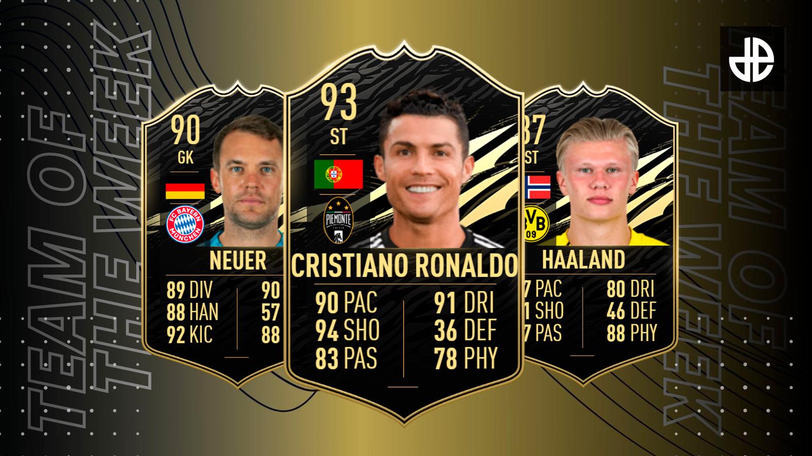 FIFA 21 TOTW 9