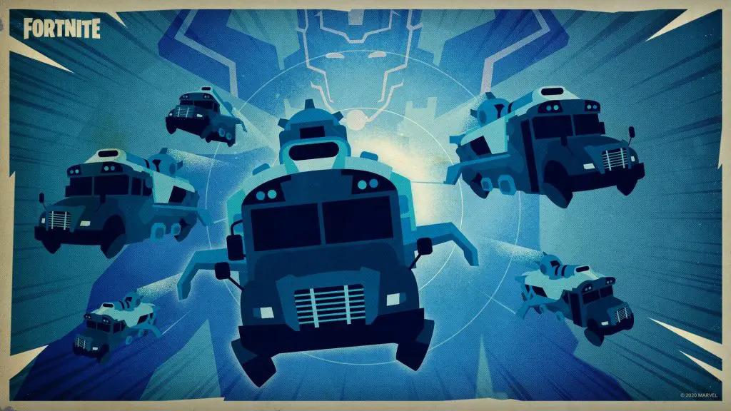Autobus de batalla fortnite