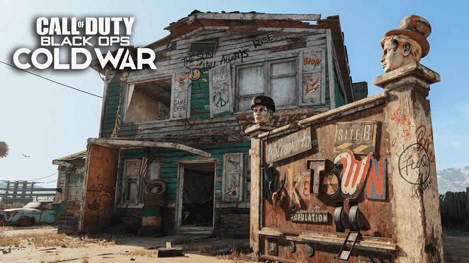 Black Ops cold war Nuketown 84