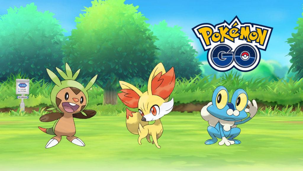 Pokémon Kalos Pokémon Go