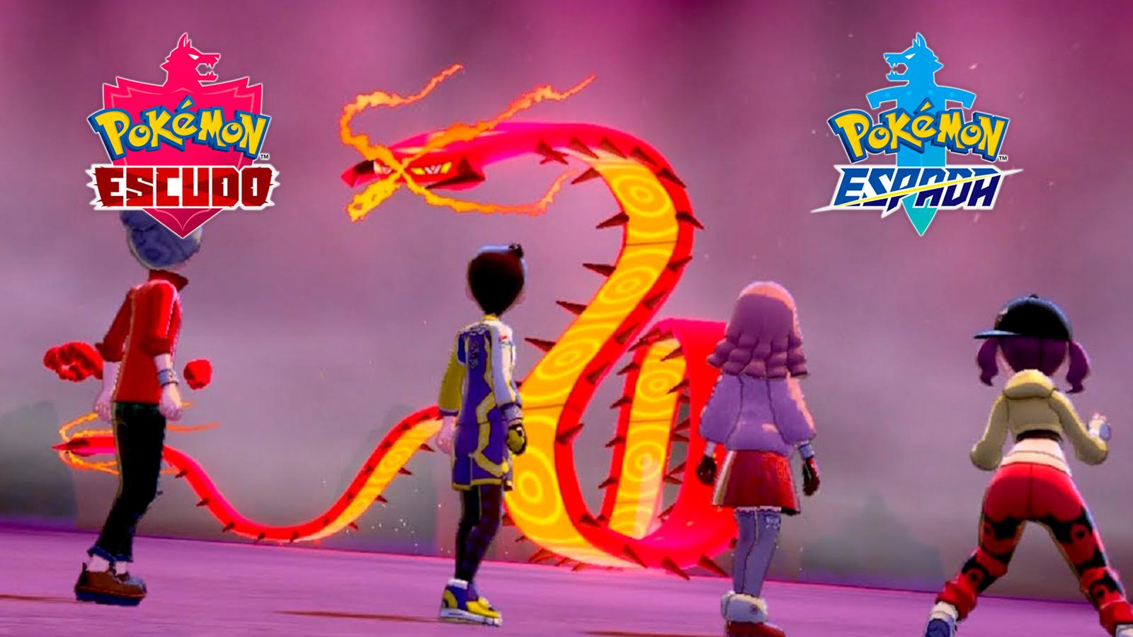 Centishkorch en Pokémon Espada y Escudo