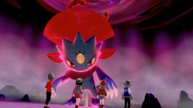 Weavile en Pokémon Espada Escudo