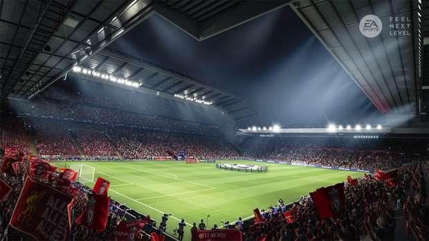 FIFA 21 en PS5