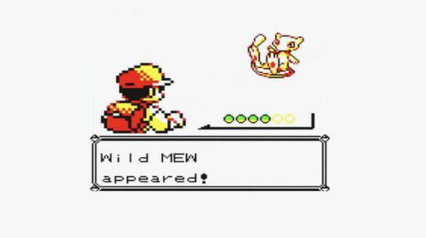 Mew en Pokémon Rojo