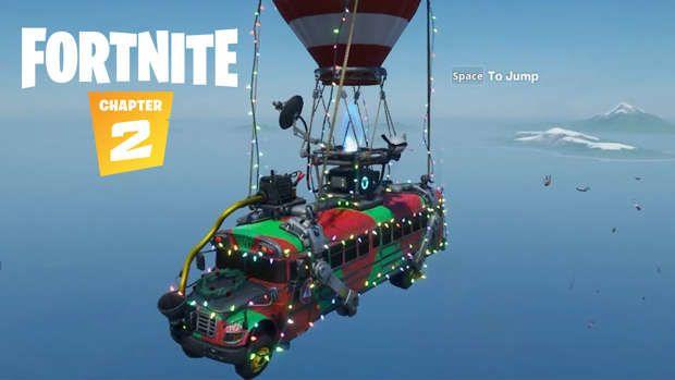 Fortnite Navidad