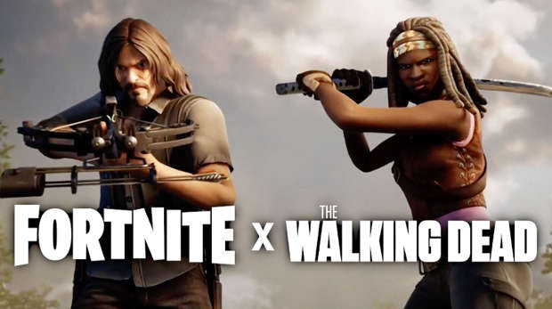 Crossover Fortnite Walking Dead