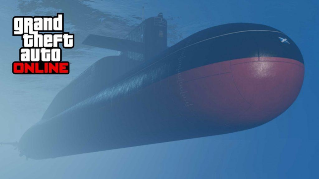 GTA Online submarino