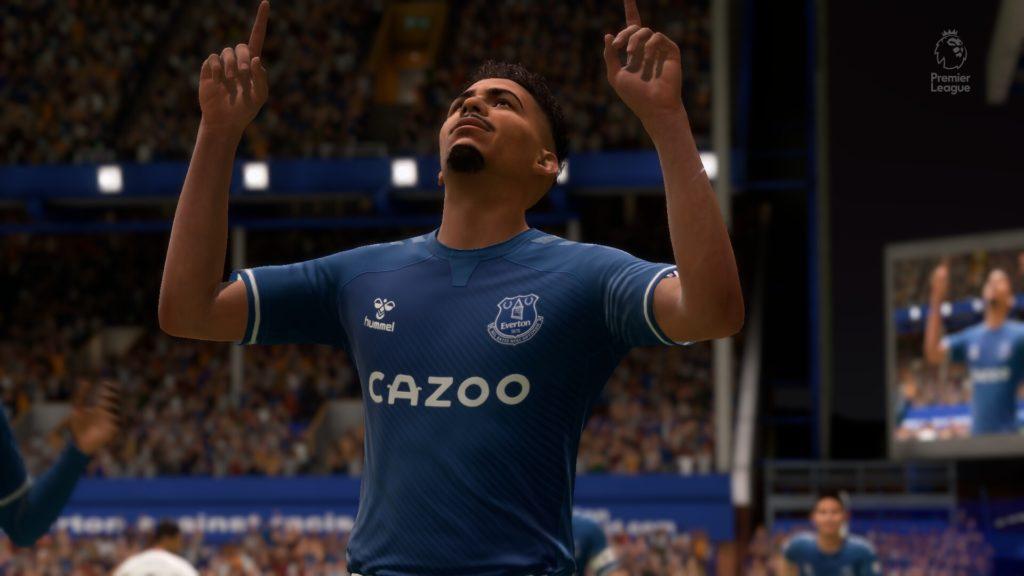 Allan del everton en FIFA 21