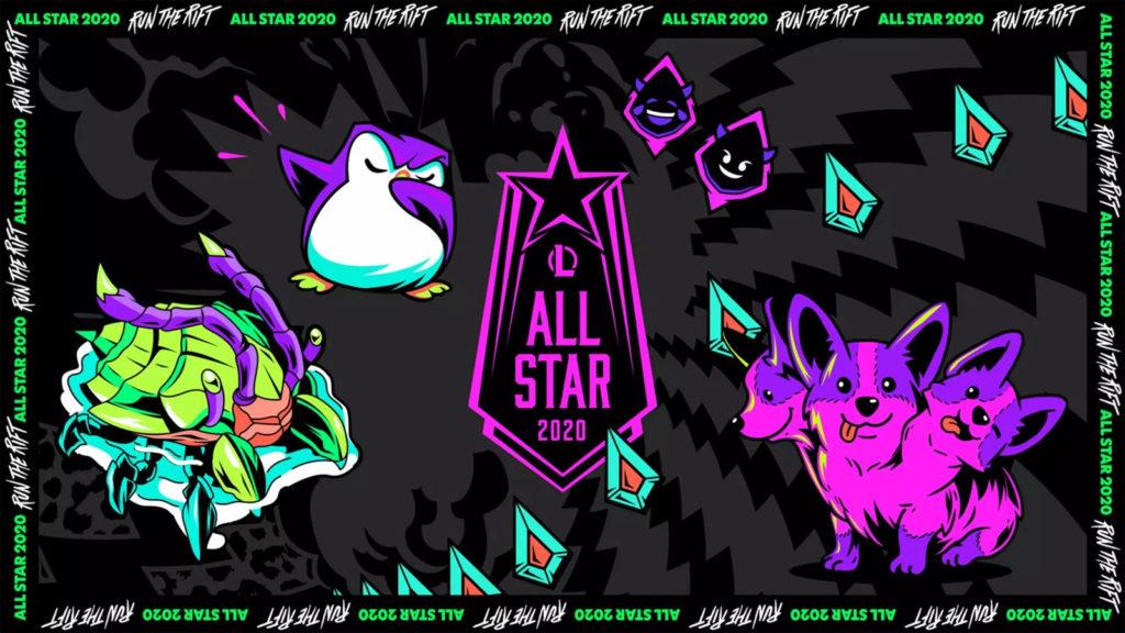 Logo LoL All-Star 2020