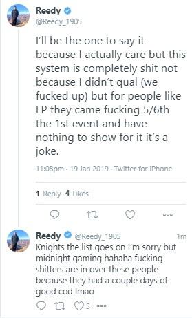 Reedy via Twitter