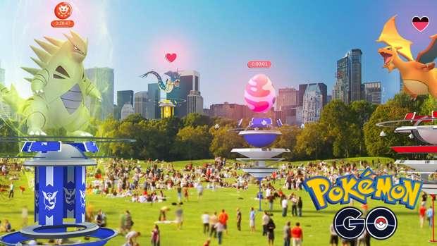 Poképaradas en Pokémon Go