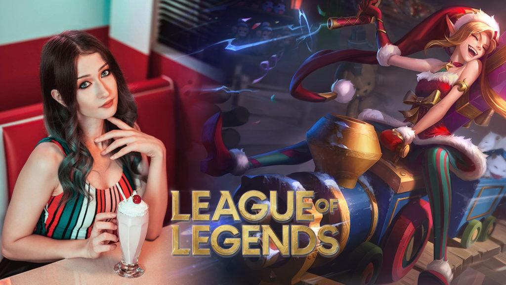 Cosplay Jinx League of Legends