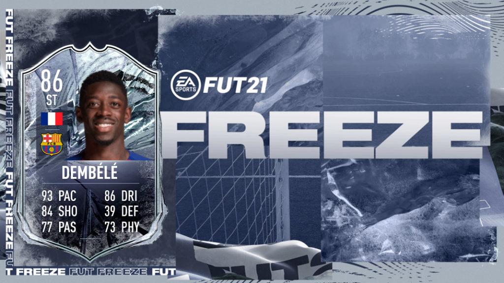 Dembele carta FIFA 21 Freeze