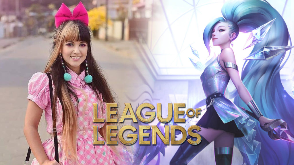 Cosplay League of Legends Seraphine