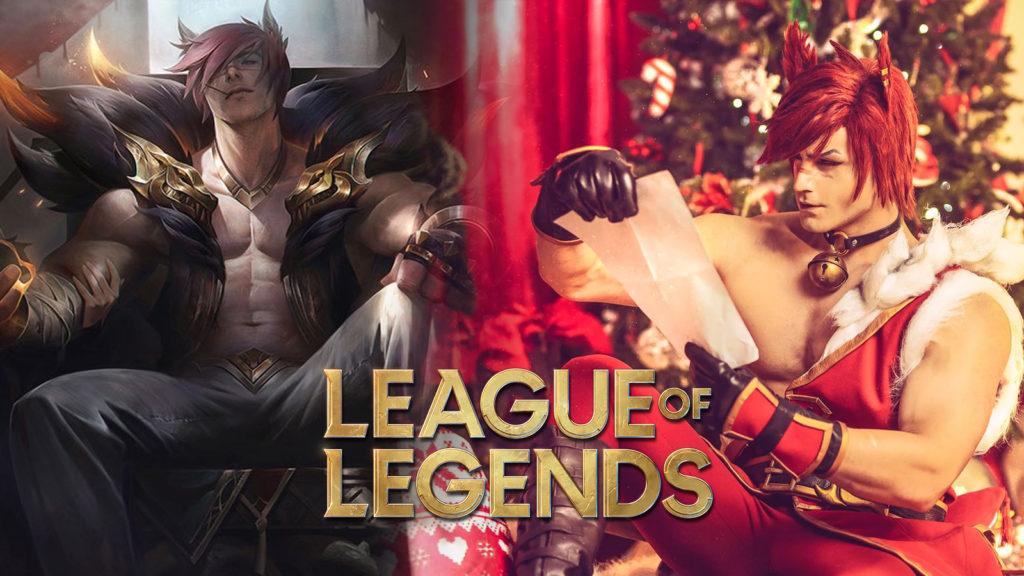 Cosplay League of Legends Christmas Sett