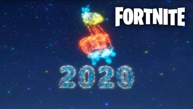 Evento año nuevo Fortnite