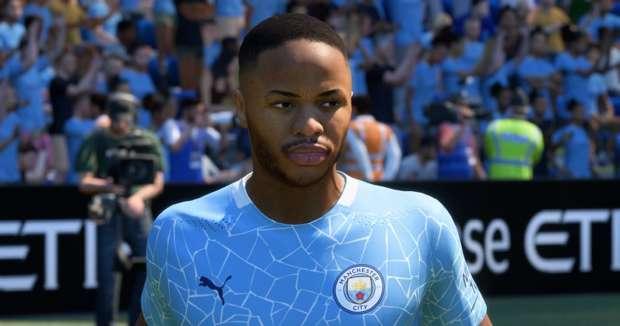 Sterling en FIFA