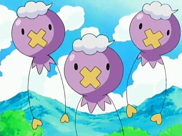 Drifloon anime Pokémon