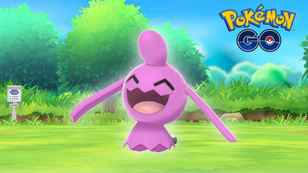 Wynaut Shiny Pokémon Go