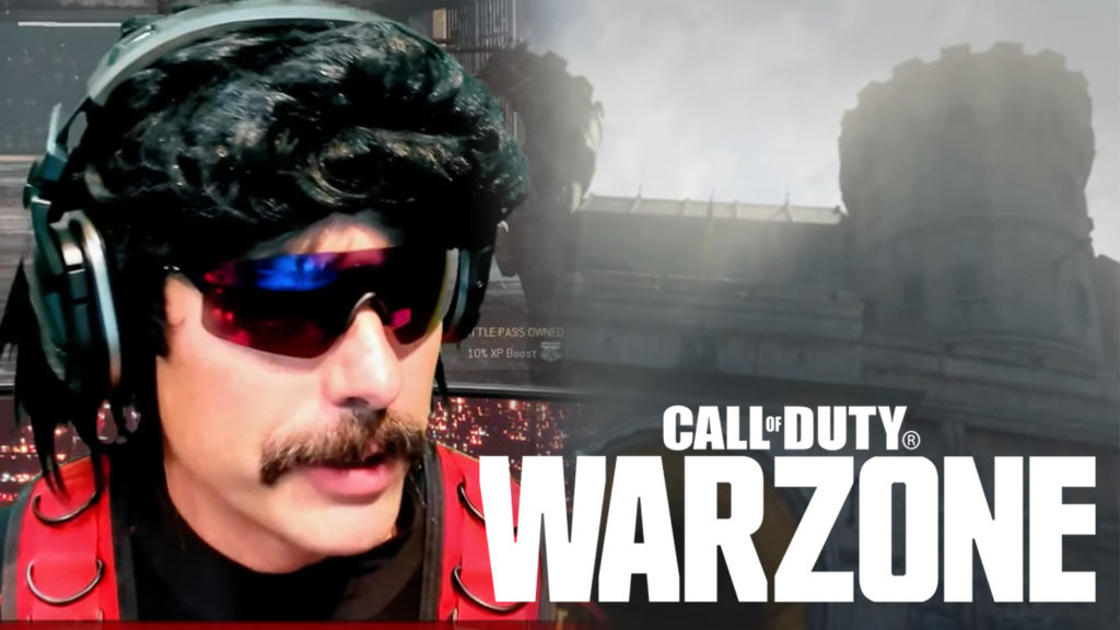 Dr Disrespect Warzone