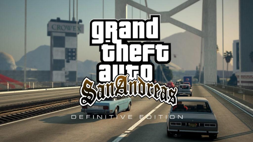 GTA San Andreas Definitive edition logo