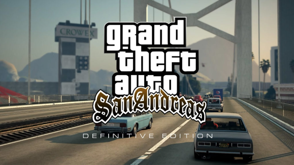 GTA San Andreas Definitive edition logo