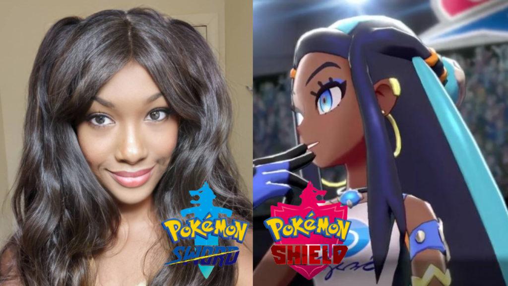 cosplay Nessa Pokémon Espada y Escudo