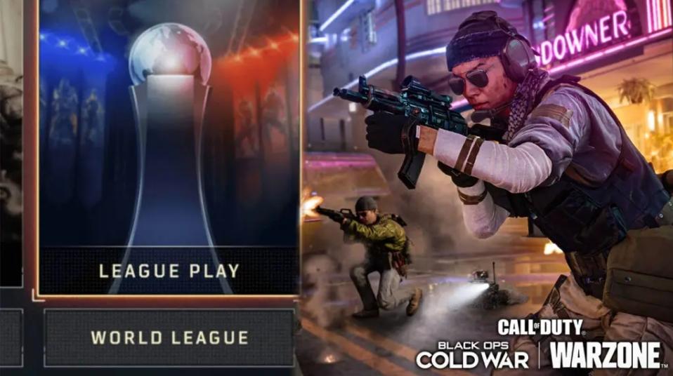 Modo Liga Black Ops Cold War