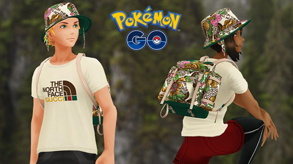 Pokémon Go Gucci x The North Face
