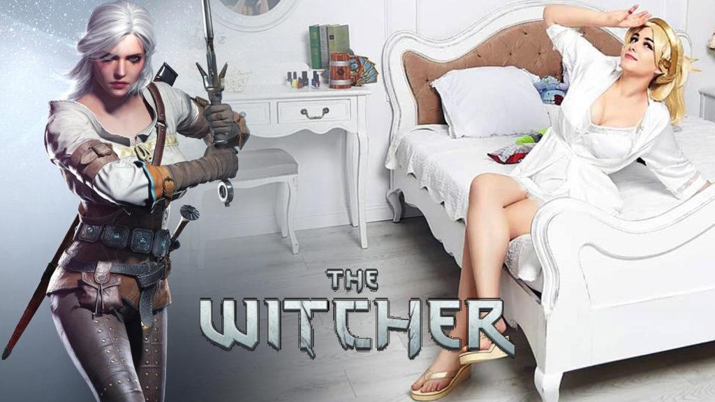Cosplay Ciri The Witcher