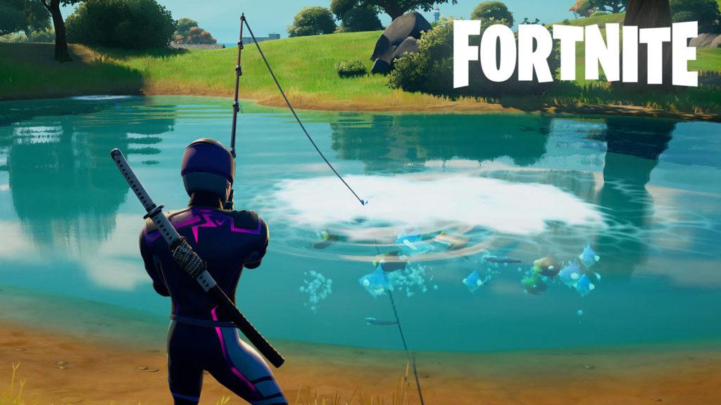 Pesca para desafío Fortnite