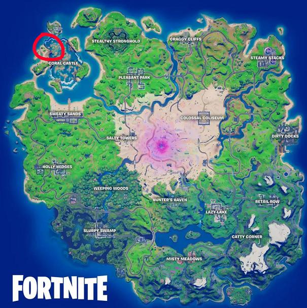 Mapa Coral
