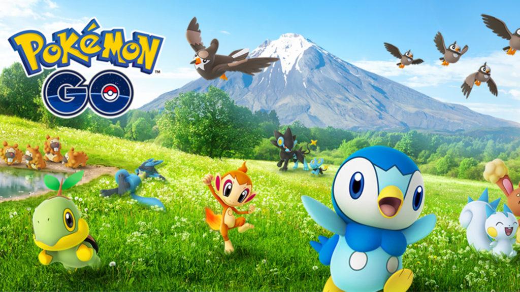 Pokémon Go evento Sinnoh